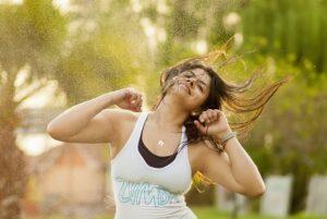 körperliche fitness und gewichtsabnahme mit zumba